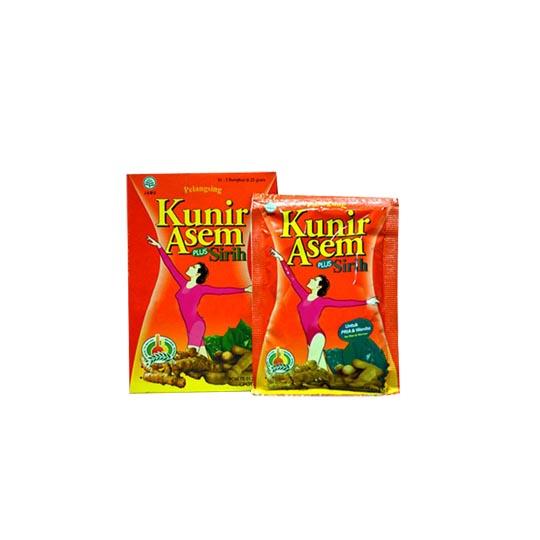 Kunir Asem Plus Sirih 25 g 5 Sachet