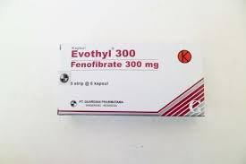 EVOTHYL 300 MG 6 KAPSUL