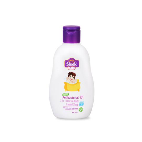 Sleek Baby 2 In 1 Hair & Body Liquid Wash 120 ml