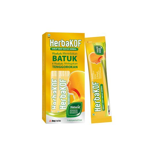 HERBAKOF STICK PACK 15 ML