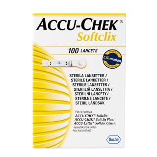 ACCU CHECK SOFTCLIX LANCETS 100'S