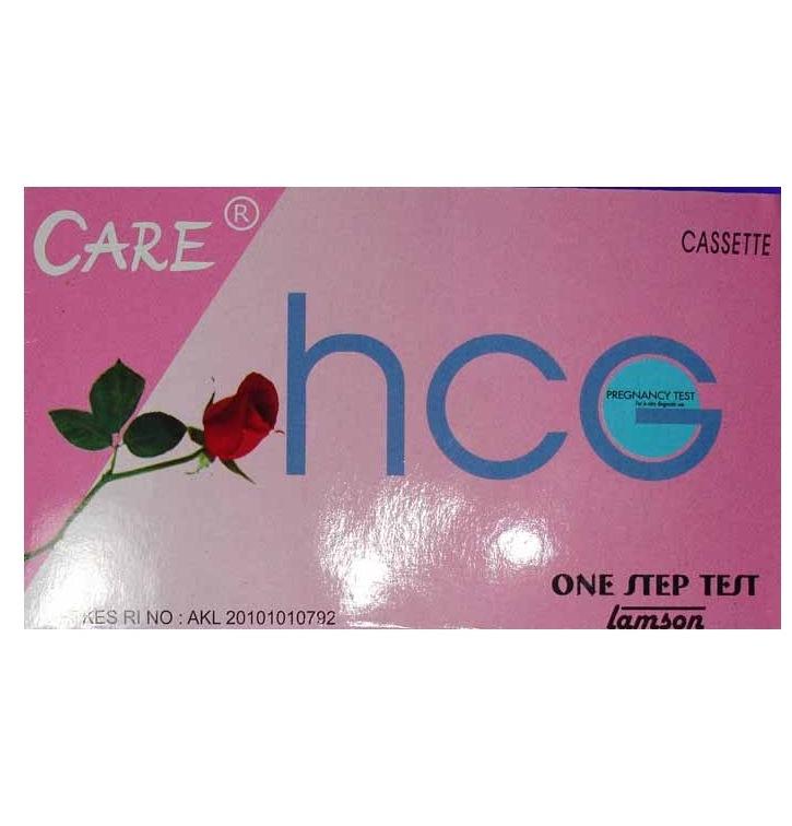 LAMSON HCG TEST CASSETTE CARE