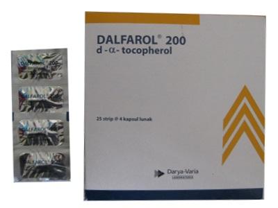 DALFAROL 200 IU 4 KAPSUL