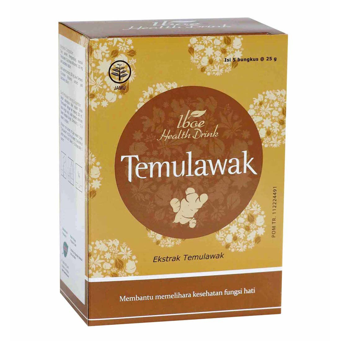 JAMU IBOE TEMULAWAK IBOE HEALTH DRINK 25 G