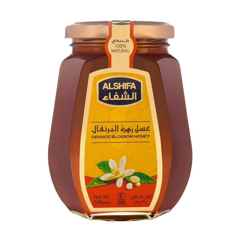 ALSHIFA ORANGE BLOSOM HONEY 500 G