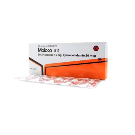 MOLOCO PLUS B12 10 TABLET