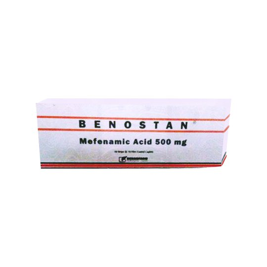 BENOSTAN 500 MG 10 TABLET