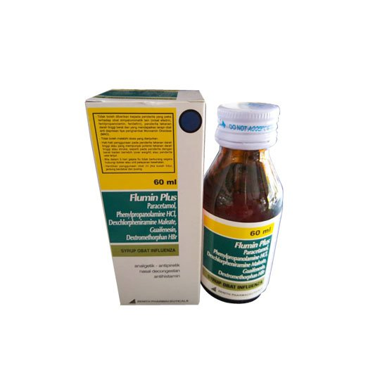 FLUMIN PLUS SIRUP 60 ML