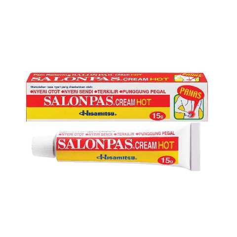 SALONPAS HOT CREAM 15 G
