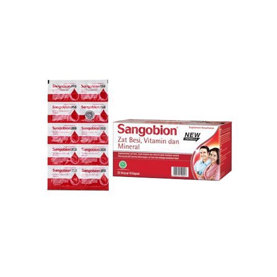 Sangobion 10 Kapsul