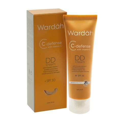 WARDAH DD NATURAL CREAM 20 ML