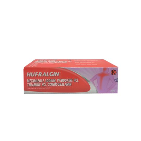 HUFRALGIN 10 KAPLET