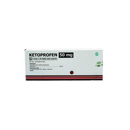KETOPROFEN 50 MG 10 TABLET