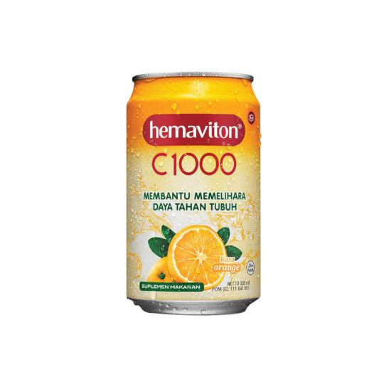 HEMAVITON C-1000 ORANGE 330 ML