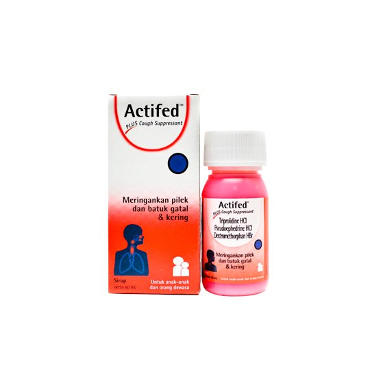 ACTIFED PLUS COUGH SIRUP 60 ML