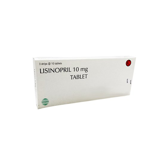 LISINOPRIL 10 MG 10 TABLET