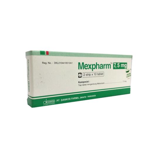 MEXPHARM 7.5 MG 10 TABLET