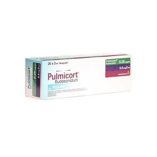 PULMICORT RESPULES 0.25 MG/ML 5'S