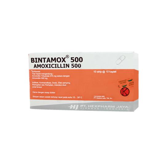 BINTAMOX 500 MG 10 KAPLET