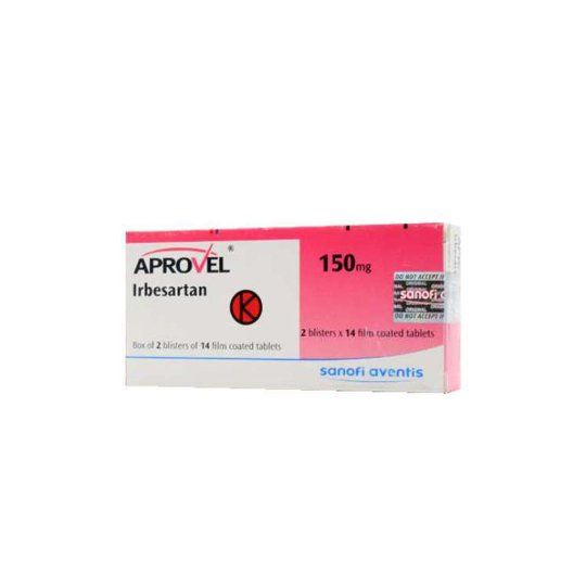 APROVEL 150 MG 14 TABLET