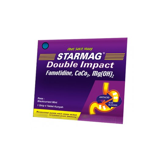 STARMAG DOUBLE IMPACT 4 TABLET