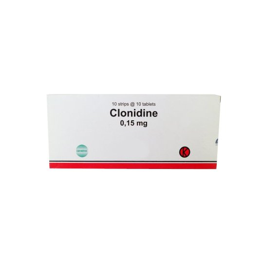 CLONIDINE 0.15 MG 10 TABLET