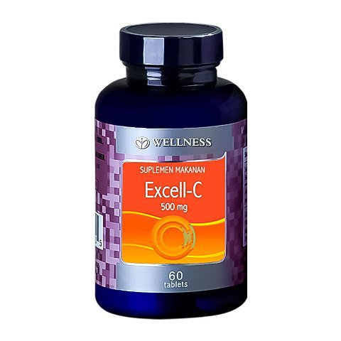 WELLNESS EXCELL-C 500 MG 60 TABLET