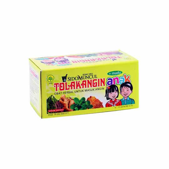 TOLAK ANGIN CAIR PLUS MADU ANAK 10 ML 12'S