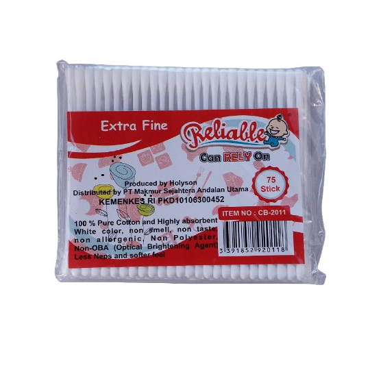 Reliable Cotton Bud Baby 75 Pieces Rcb-2011
