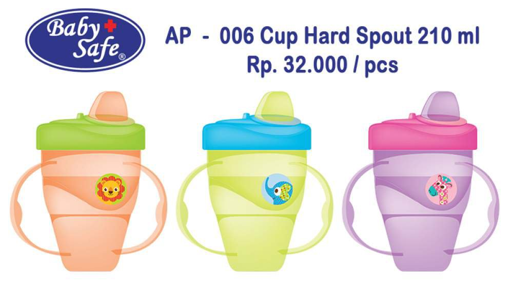 BABY SAFE CUP HARD SPOUT 210 ML (AP 006)