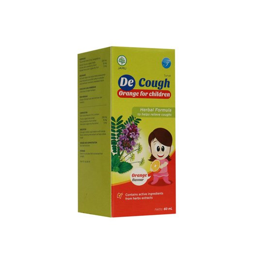 DE-COUGH JERUK SIRUP 60 ML