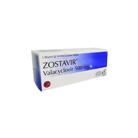 ZOSTAVIR TABLET 500 MG