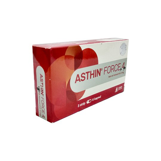 ASTHIN FORCE 4 MG 18 KAPSUL