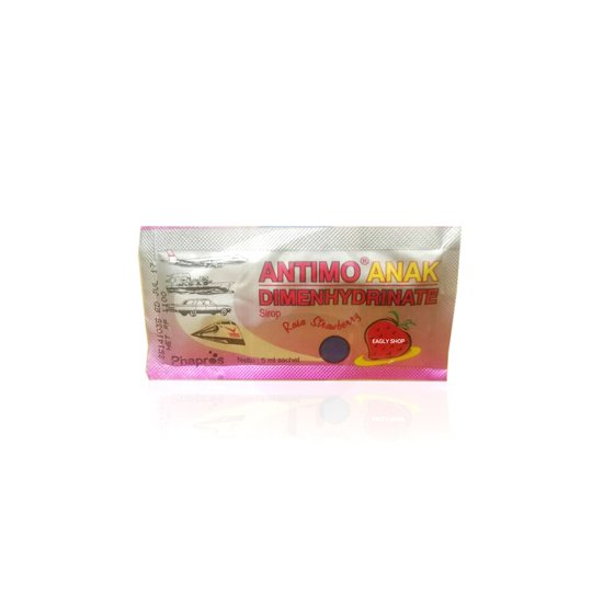 ANTIMO ANAK RASA STRAWBERRY 5 ML 10 SACHET
