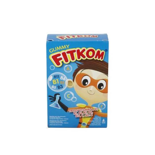 FITKOM GUMMY VITAMIN TABLET BLUE