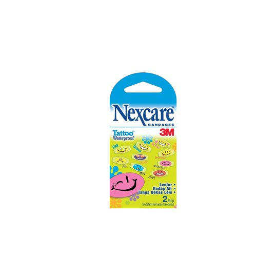 NEXCARE BANDAGE TATOO WATERPROOF 2'S