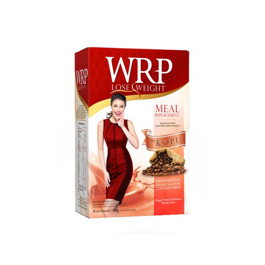 WRP LOST WEIGHT MEAL REPLACEMENT COFFE 12'S