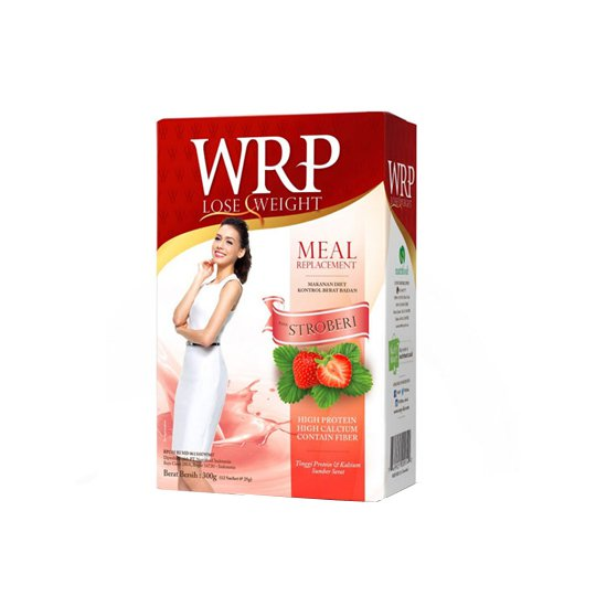 WRP LOST WEIGHT MEAL REPLACEMENT STRAWBERRY 12'S