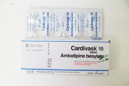 CARDIVASK 10 MG 10 TABLET