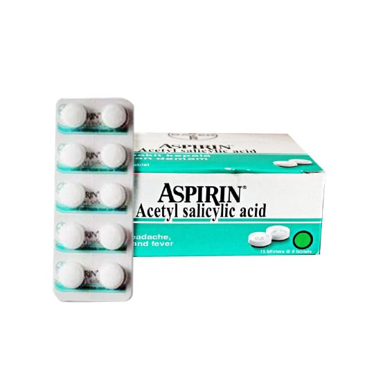 ASPIRIN BAYER 500 MG 10 TABLET