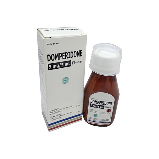DOMPERIDONE SIRUP 60 ML