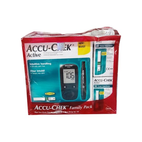 ACCU CHEK ACTIVE FAMILY PACK