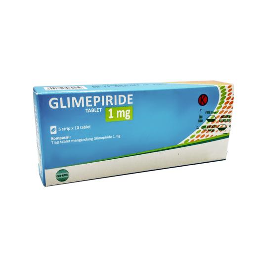 GLIMEPIRIDE 1 MG 10 TABLET