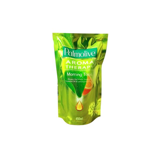 PALMOLIVE SHOWER GEL MORNING TONIC REFILL 450 ML