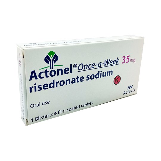 ACTONEL 35 MG 4 TABLET