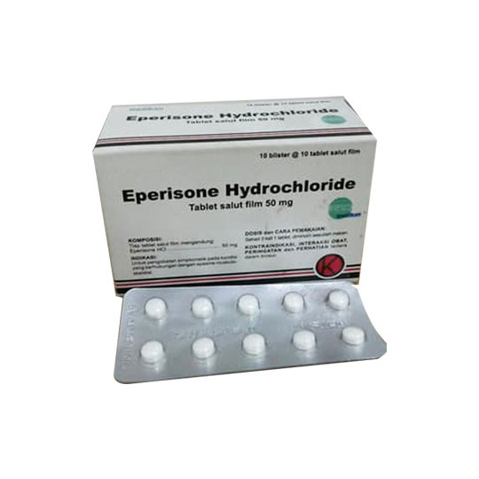 EPERISONE 50 MG 10 TABLET