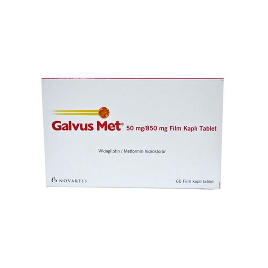 GALVUSMET 50 MG/850 MG 10 TABLET
