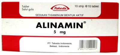 ALINAMIN 5 MG 10 TABLET