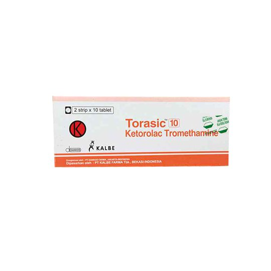TORASIC 10 MG 10 TABLET