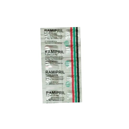 RAMIPRIL 2.5 MG 10 KAPLET